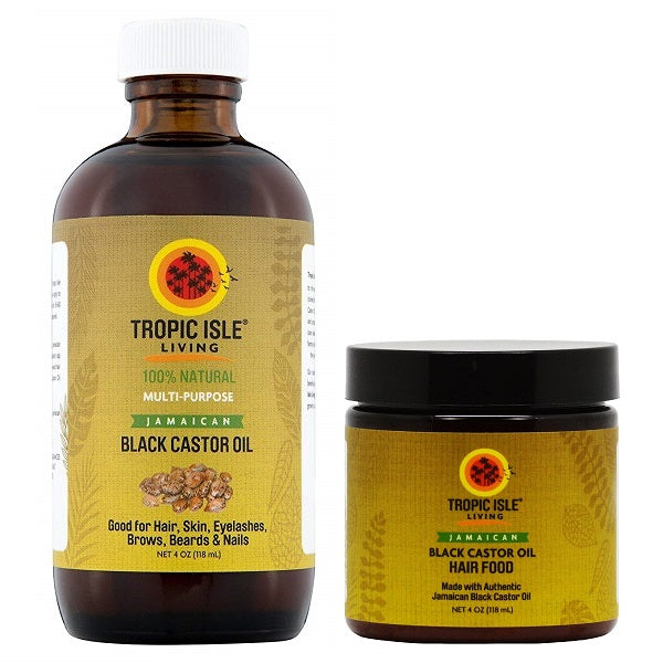 Jamaican Black Castor Oil Combo - bodytonix