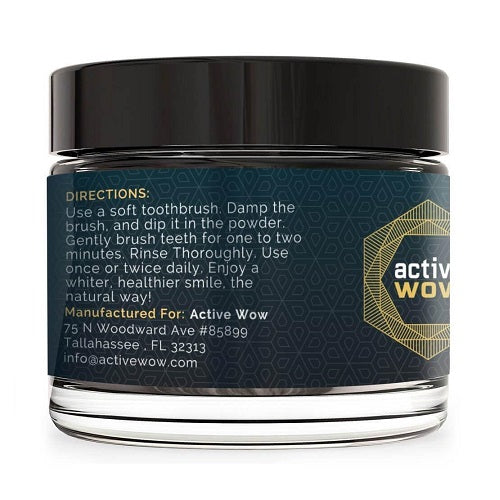 Activated Coconut Charcoal Teeth Whitening Powder - bodytonix
