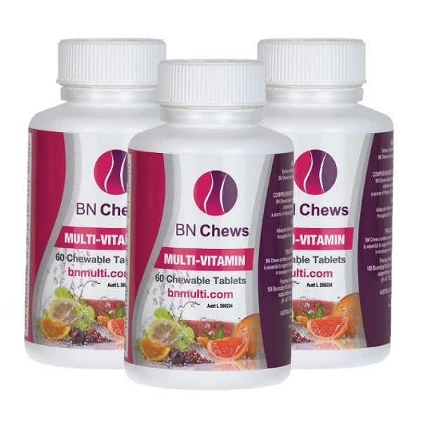 BN Multi Vitamin Chewables for Bariatrics - 3 Months - bodytonix