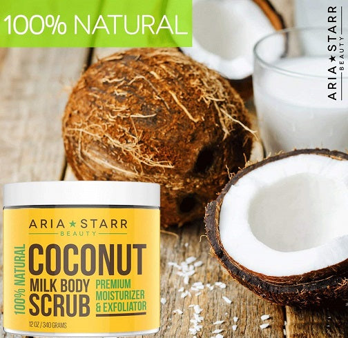 Coconut Milk Body Scrub - bodytonix