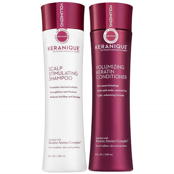 Keranique Shampoo & Conditioner Combo - bodytonix