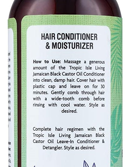 Tropic Isle Living Jamaican Black Castor Oil Shampoo + Conditioner