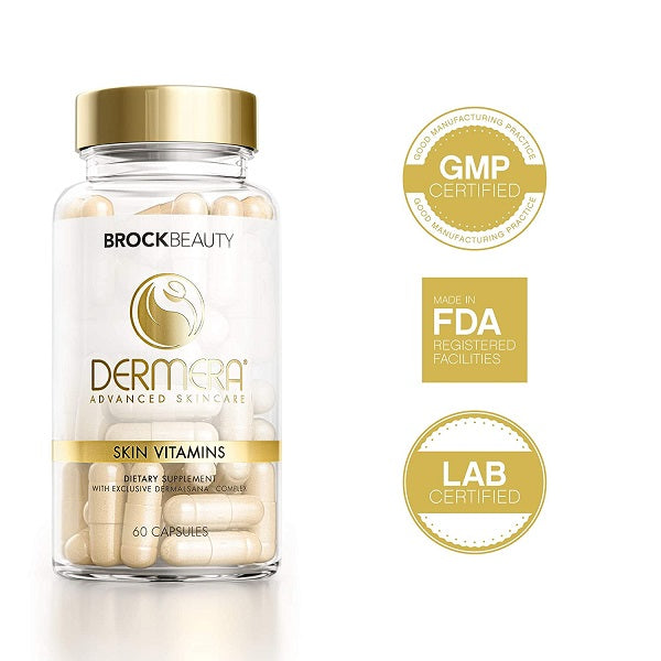 Brock Beauty Dermera Skin Vitamins