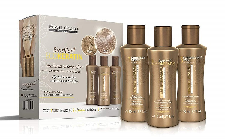 Brasil Cacau Brazilian Keratin Smoothing Treatment Kit - bodytonix