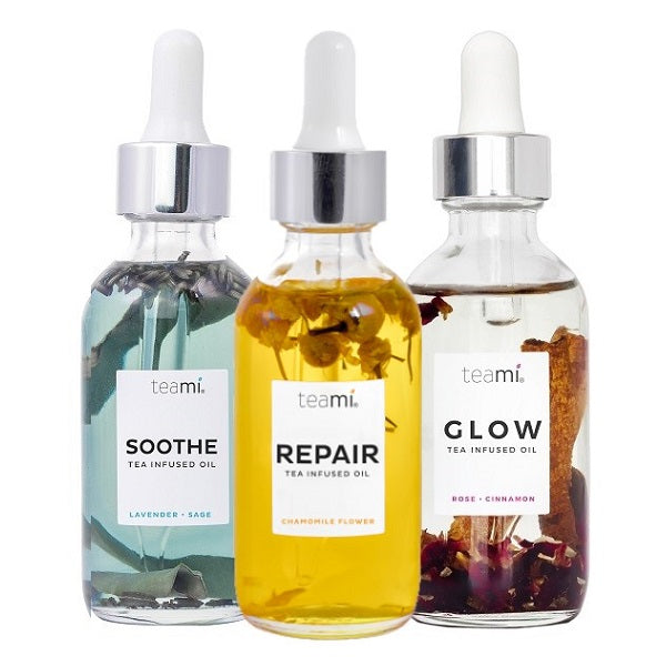 Teami Tea Infused Facial Oil Bundle - bodytonix