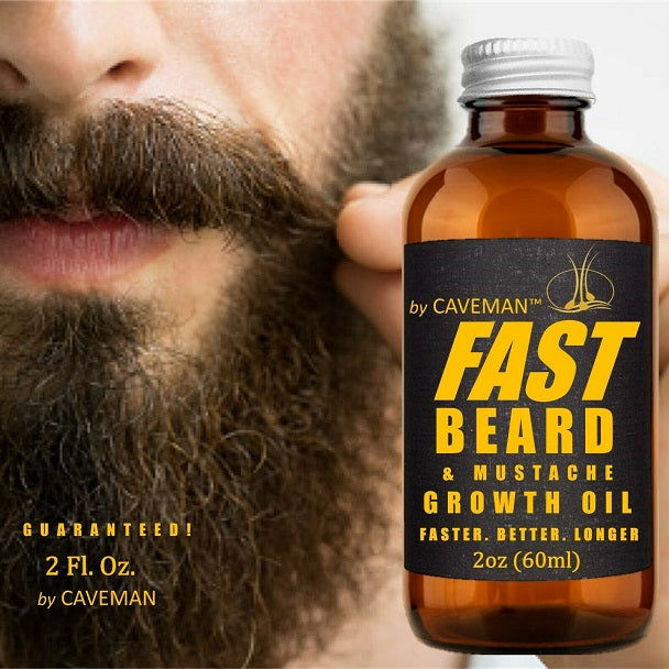 Caveman Fast Beard & Moustache Growth Oil