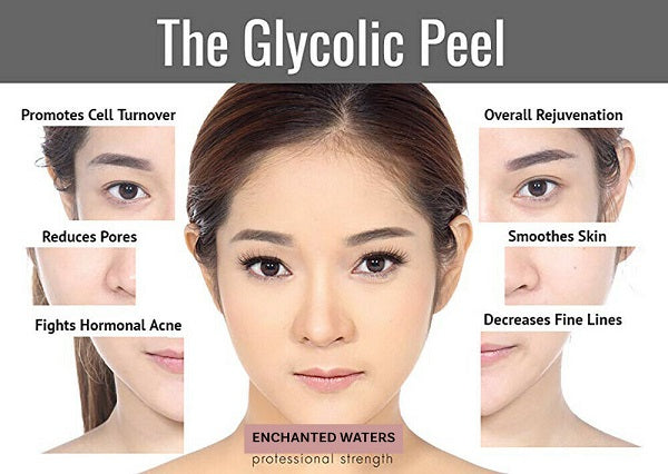 Enchanted Waters Glycolic Acid Facial Skin Peel