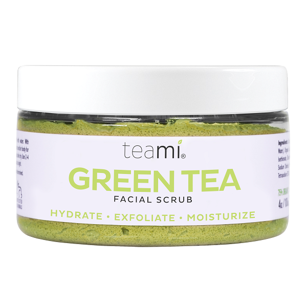 Green Tea Facial Scrub - bodytonix