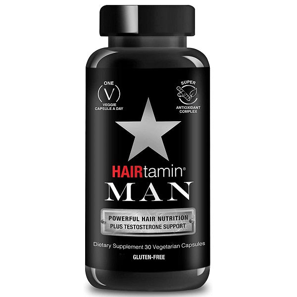 Hairtamin Man Hair & Beard Formula