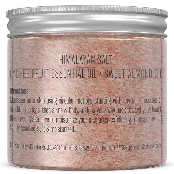 M3 Naturals Himalayan Scrub w/ Collagen + Stem Cell