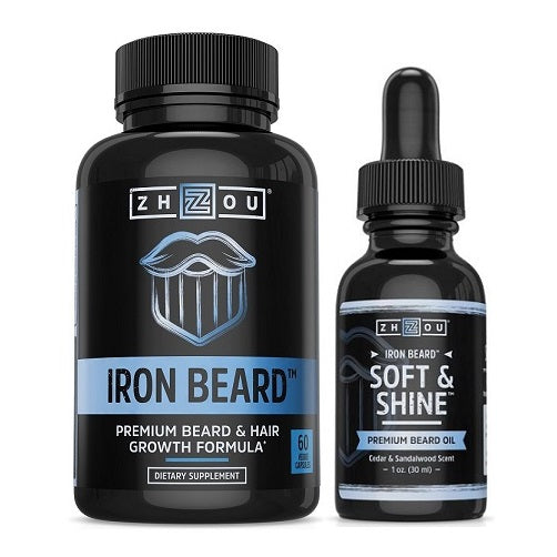 Iron Beard Soft & Shine Combo - bodytonix