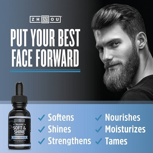 Iron Beard Soft & Shine Nourishing Beard Oil - bodytonix