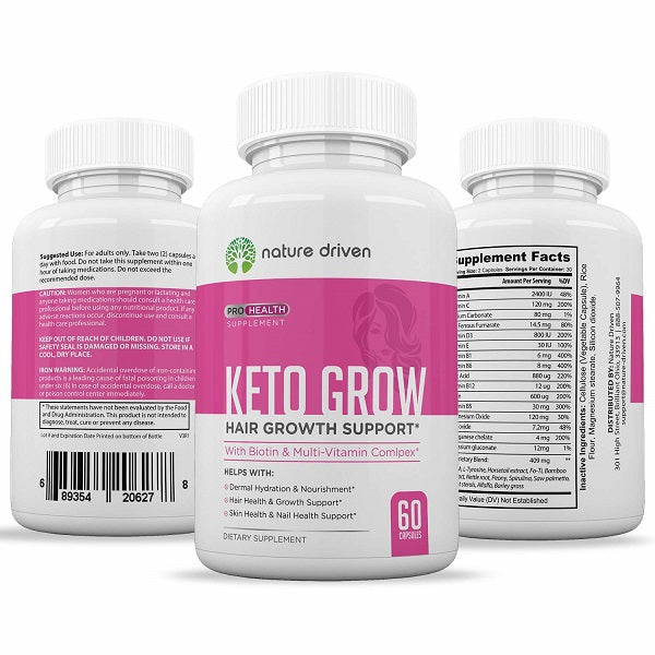 Keto Grow Hair Growth Support - bodytonix
