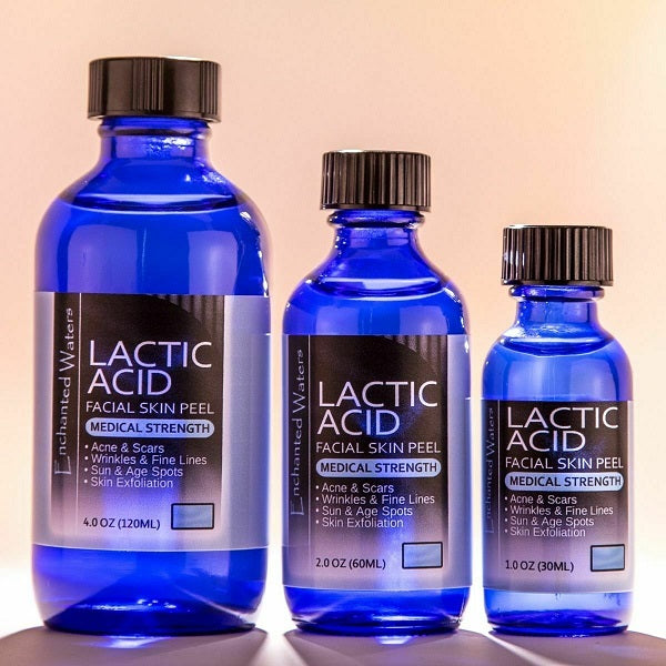 Enchanted Waters Lactic Acid Facial Skin Peel