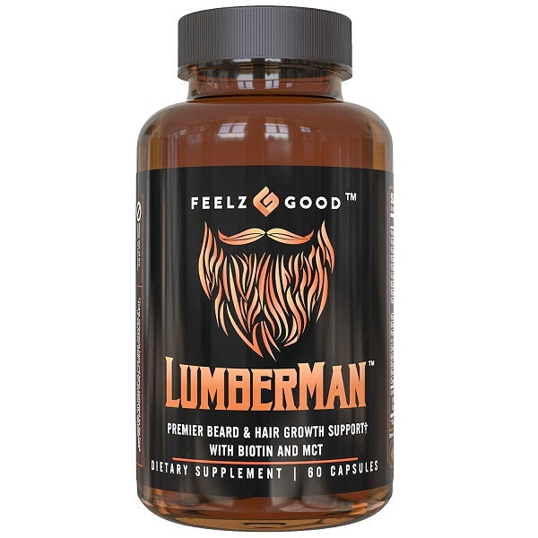 Lumberman Beard & Hair Growth Vitamins