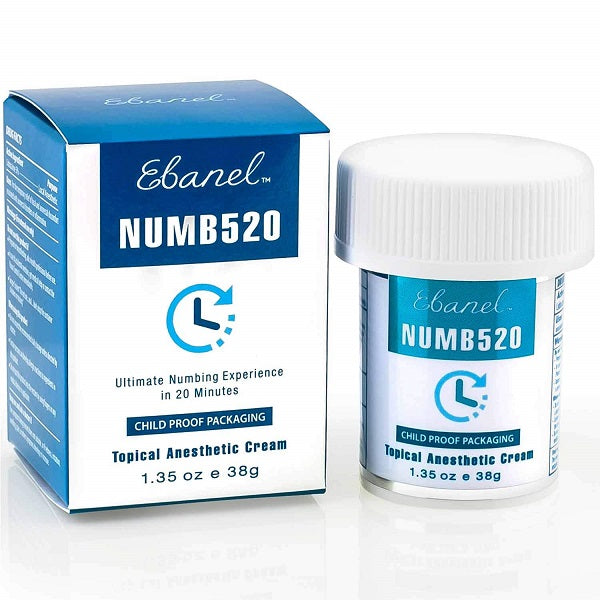 Topical Anaesthetic Numbing Cream - bodytonix