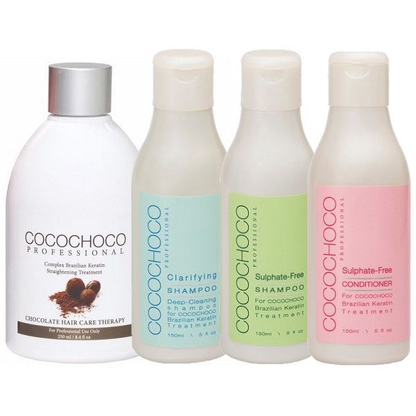 Cocochoco Original Keratin Treatment + Shampoo + Conditioner