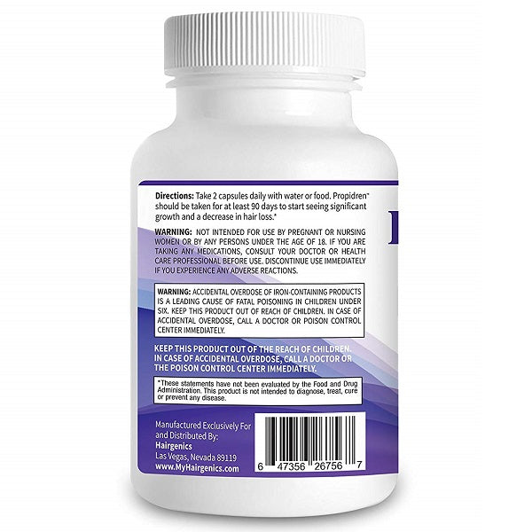 Propidren Hair Growth Vitamins - bodytonix