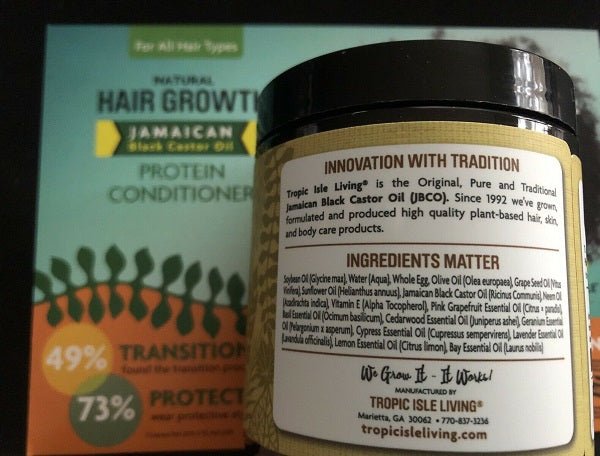 Black Castor Oil Protein Conditioner - bodytonix