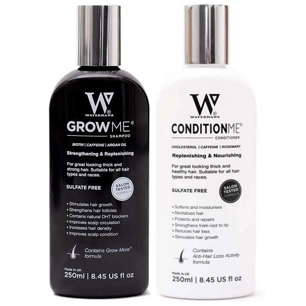 Watermans Hair Growth Shampoo & Conditioner Set - bodytonix
