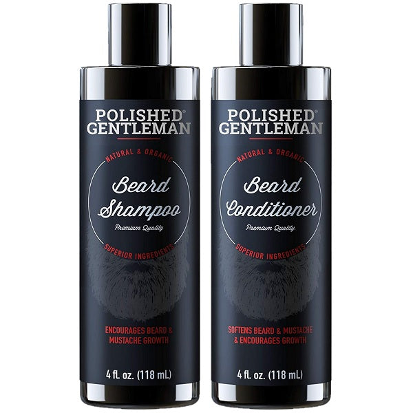 Beard Shampoo & Conditioner Set - bodytonix