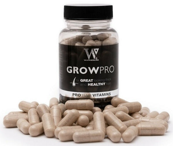 Watermans Grow Pro Hair Vitamins - bodytonix