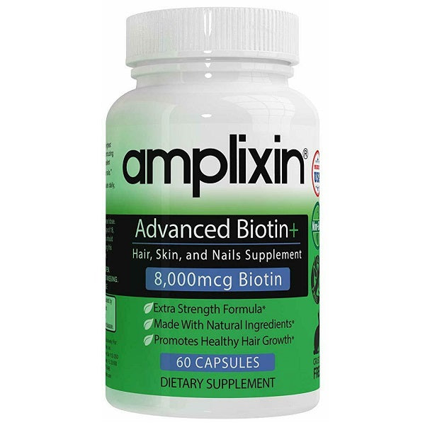 Amplixin Advanced Biotin Vitamins - bodytonix