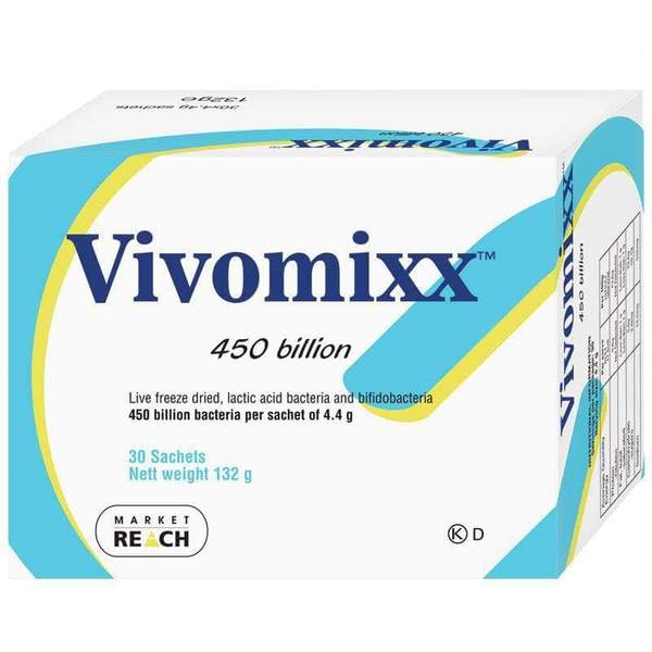 Vivomixx Sachets 30 x 4.4g 132g (Also know as VSL#3 and Visbiome) - EXPRESS POST ONLY