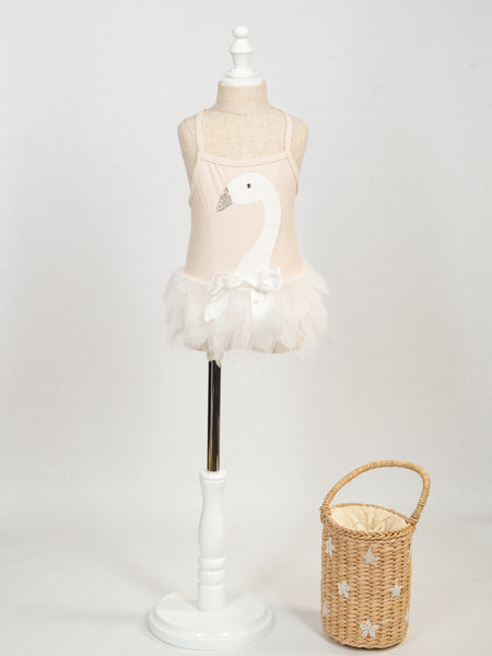 Swan Tutu One Piece Swimwear