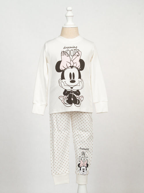 Polka dots and Minnie PJs