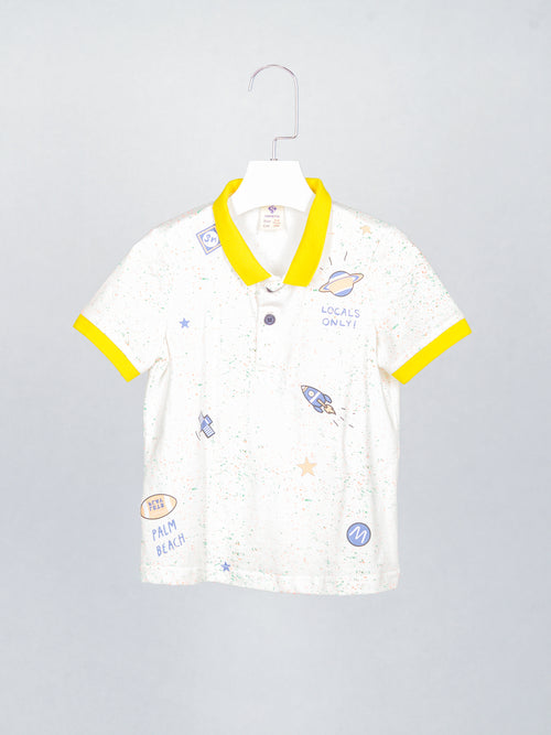 Outer Space Polo Tee