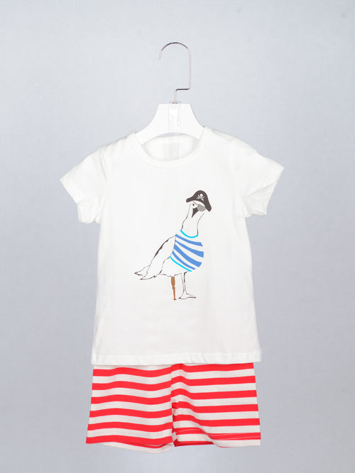 Pirate Duck Tee & Shorts