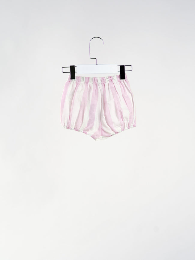 Rachel Striped Bow Shorts