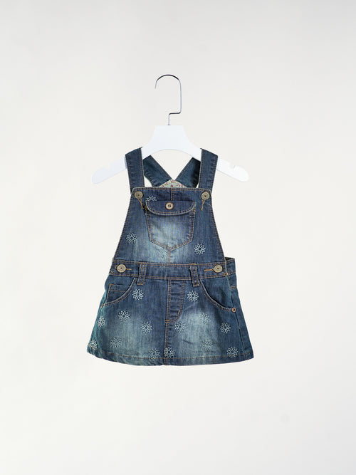 Lexa Denim Jumper Dress