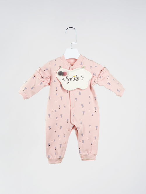 Charlotte Romper With Bib