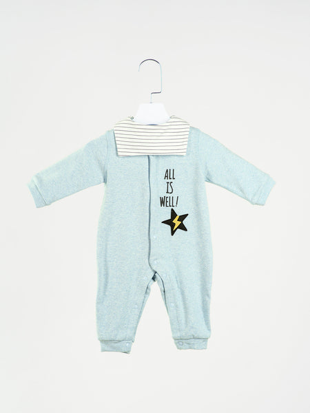 Dylan Romper With Bib