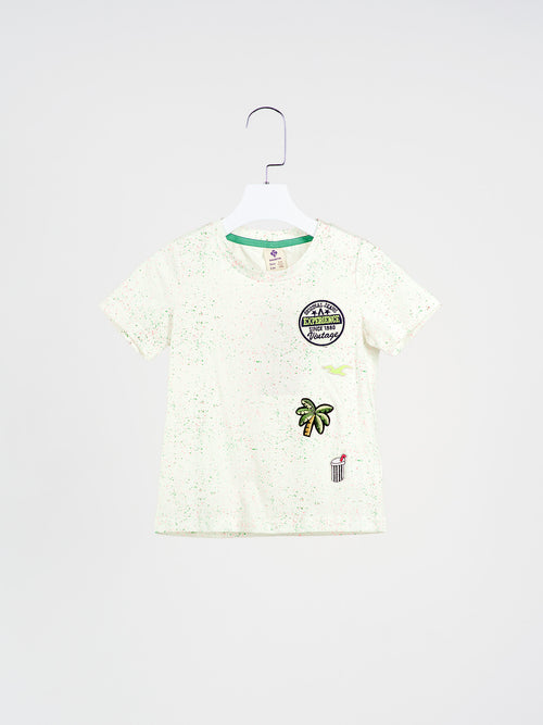 Chad Splatter Paint Tee