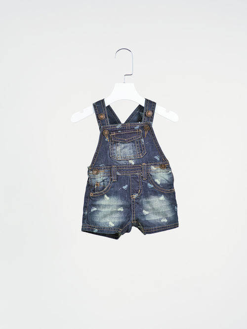Lucas Denim Shortalls