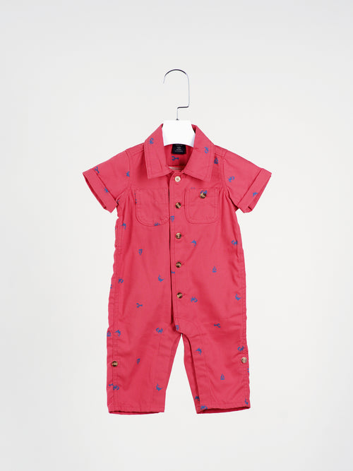 Fly Away Pilot Red Overall