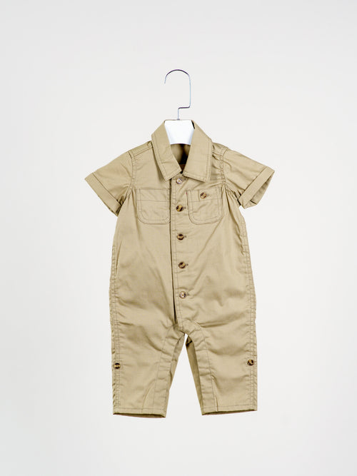 Fly Away Pilot Khaki Overall