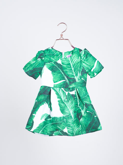 Karlie Foliage Dress