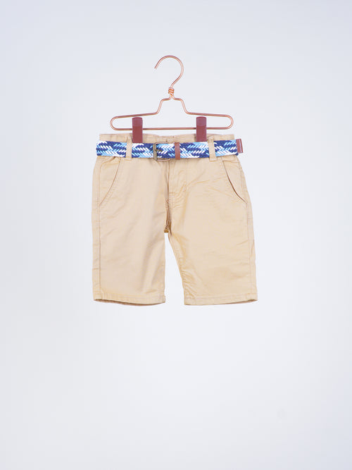 Cooper Khaki Berms with Belt