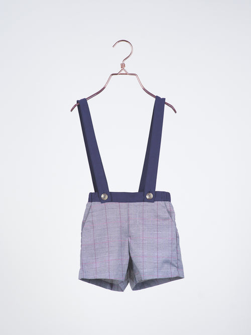 Oxford Berms with Detachable Suspenders