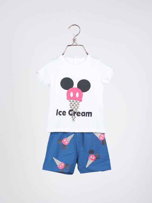 Ice Cream Tee & Shorts