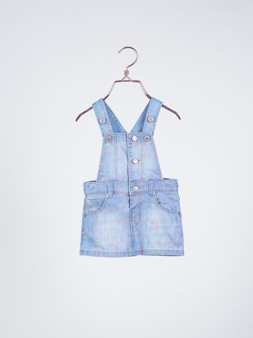 Mon Cherie Denim Jumper Dress