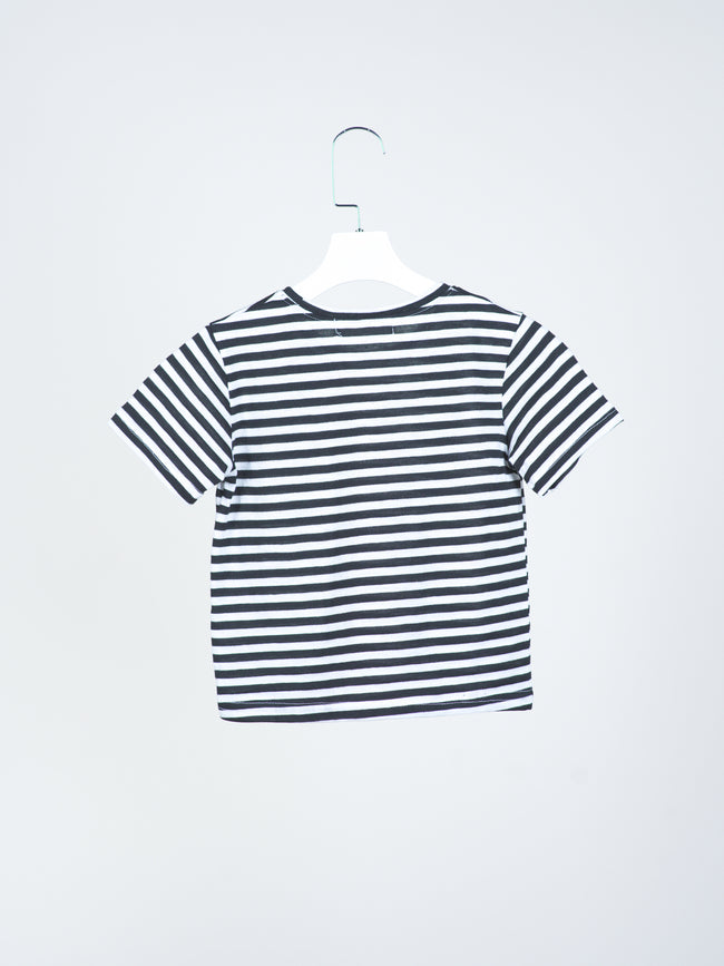 Monochrome Striped Tee