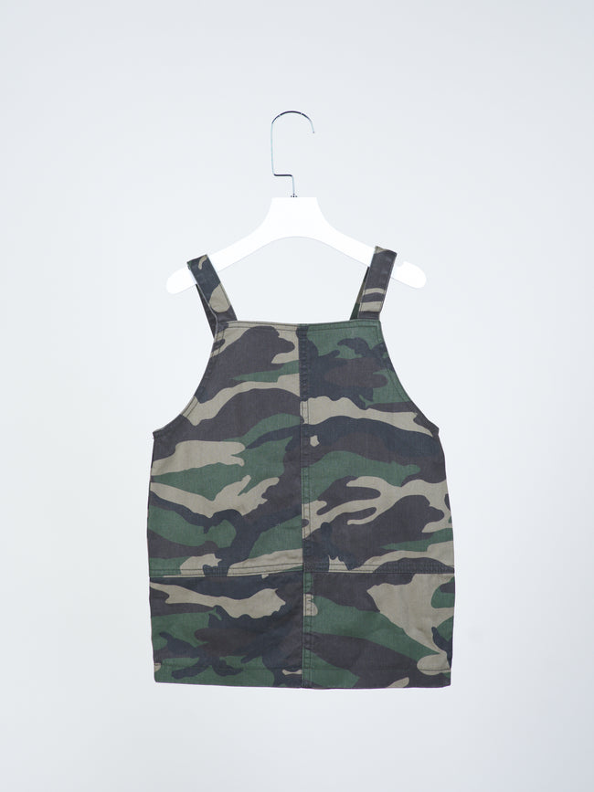 Mitchell Army Pinafore Dress
