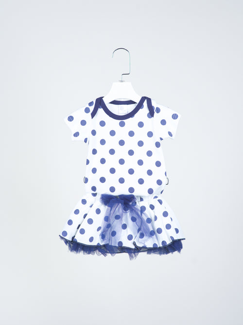 Gracie Onesie & Skirt Set With Headband