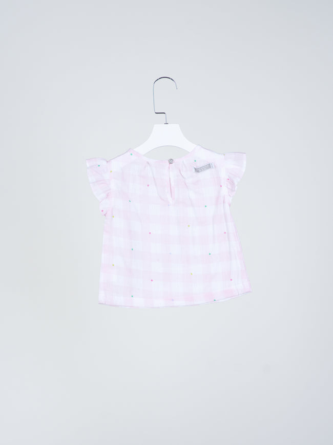 Confetti Gingham Top
