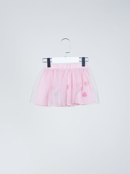 Happy Dotted Tutu Skirt